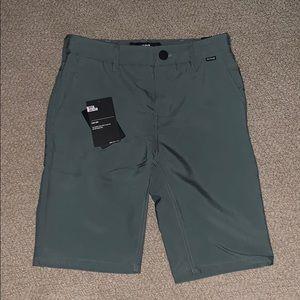Boys Hurley Nike Dri fit shorts.